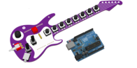 Fenderino Guitar Shield (Arduino board included)